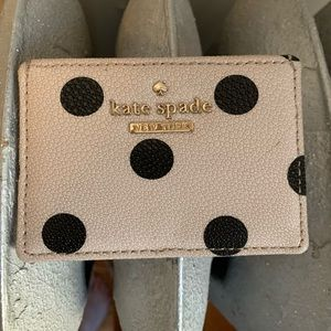 Kate Spade Polka Dot Card Case